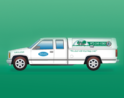 Company Truck, Insect Remediation, Rodent Control in Dallas, TX